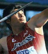 2009世界陸上槍投げ銅メダル 村上選手